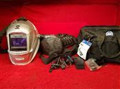 Miller PAPR Air Filtration + Titanium 9400 Auto Darkening Welding Helmet